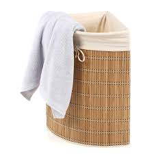 Wicker Clothes Hamper With Lid Bathroom Exciting Wicker Corner Hamper For Inspiring Clothes