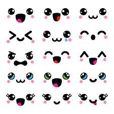 imagenes de caritas kawai caritas kawaii para dibujar emojis kawaii facebook png