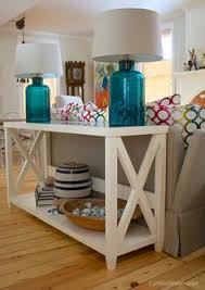 How To Decorate Sofa Table Sofa Table With Lamps Always A Lovely Addition To A Sitting Room