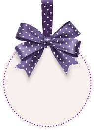 round label with bow template png clip art image clip art