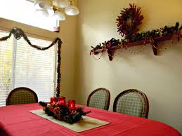 dining room christmas decor dining room christmas decorating ideas kmartholiday home