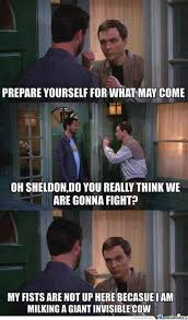 Sheldon Meme - wil wheaton vs sheldon cooper by eruka meme center