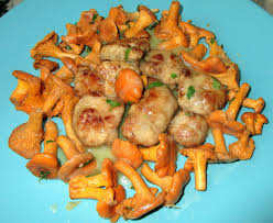 cuisiner les girolles ris d agneau poêlé aux petites girolles