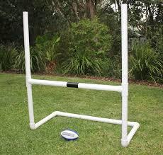 Backyard Football Goal Post Backyard Footy Goal Posts For Afl Auskick Nrl Rugby League