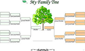 blank family tree template simple snapshot documents word u2013 studiootb