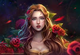 disney princess belle beauty beast tinythanhtruc