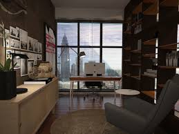 study room at setia sky residences 3d visualization interior