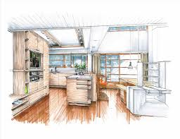 Sketchup Kitchen Design Sketches For Interior Design Kitchen U Bathroom Sketchup Hand