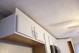 Cabinets Crown Molding Adding Crown Molding To Your Kitchen Cabinets U2014 Weekend Craft