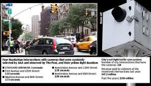 red light camera violation nyc city s gotcha traffic cameras use short yellow lights to increase