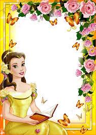 cinderella writing paper fav princesses borders and frames pinterest princess imagens para photoshop frames png fotos princesas disney 2
