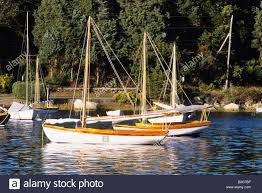 small sailboats in quissett harbor falmouth cape cod