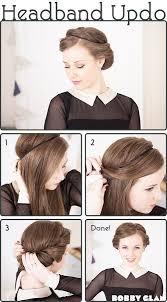 headband roll best 25 headband hair tuck ideas on headband updo