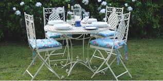Cream Garden Bench Garden Furniture Ascalon Trade