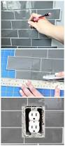 laundry room refresh with peel and stick backsplash wall tile