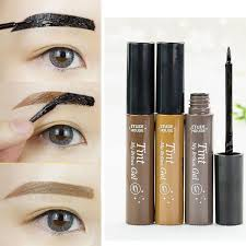 henna eye makeup waterproof eyebrow makeup eye tint gel henna tattoo peel semi