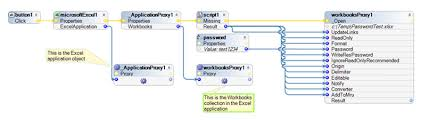 openspan 7 1 how to open password protected excel workbook pdn