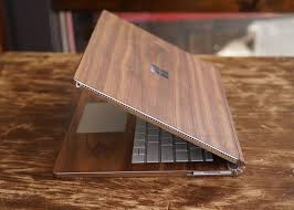 real wood real wood cover for surface book by toast gadget flow