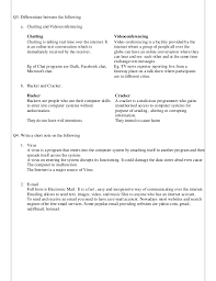 Computer Lesson Worksheets Computer Worksheet Class 8 With Answers