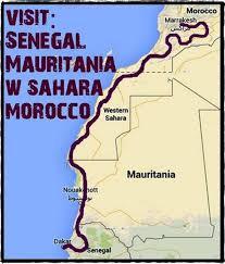 Dakar Senegal Map West Africa Overland Group Tours U0026 Adventure Travel Overlanding