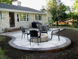 Backyard Concrete Patio Designs Fantastical Backyard Concrete Patio Ideas Cover Some Patios You