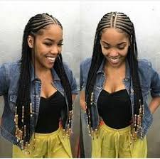 cornrow hairstyles for black women with part in the middle the beads otherwise haute imo natural hair style braids
