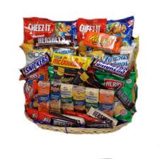 Snack Basket Fruit U0026 Snacks U2014 Gift Baskets By G U0026h