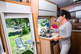 rv kitchen cabinet storage ideas 7 rv kitchen storage ideas to save space and stay organized