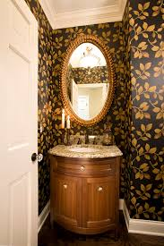 small half bathroom designs bathroom traditional with oval mirror