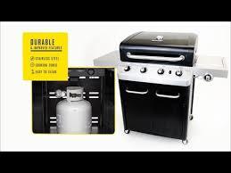char broil signature tru infrared 4 burner cabinet gas grill char broil signature 4 burner gas grill black youtube