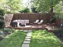 small garden designs decking the garden inspirations