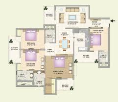 2 bhk flat design plans mt zirakpur 3 bhk flats in zirakpur