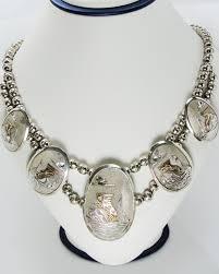 silver bead necklace tiffany images Tiffany co blue enamel beaded heart key pendant necklace jpg