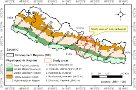 Show Me A Map Of Nepal by Spatio Temporal Distribution Of Dengue And Lymphatic Filariasis