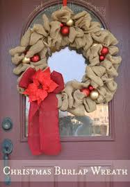 christmas burlap wreaths christmas burlap wreath whats ur home story