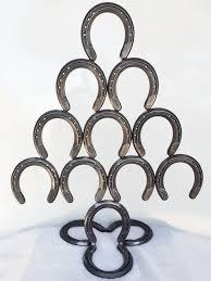 horseshoe christmas tree rustic horseshoe christmas tree the heritage forge