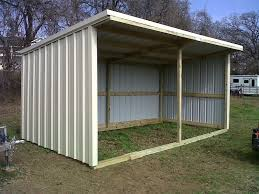 Free Wooden Shed Designs by Basic Loafing Shed Blueprints Size 12x24 Loafing Shed Steel