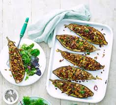 cuisine aubergines stuffed aubergines recipe food