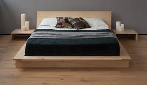 Asian Wooden Floor Asian Style Platform Bed
