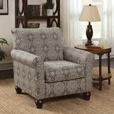 damask chair furniture of america corrington casual damask print fabric multi