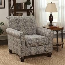 damask chair furniture of america corrington casual damask print fabric multi