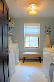 classy beige wood design ikea laundry room ideas display cabinet