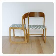 chaise traineau baumann chaise baumann traineau 161531 paire de chaises traineau baumann