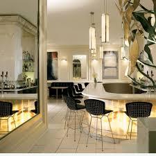 dining room modern bertoia counter stool design bring elegent