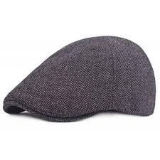 barret hat black winter texture keep warm unisex beret hat 5 72 online