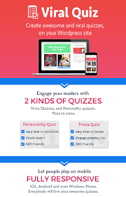 wordpress viral quiz u2013 buzzfeed quiz builder by stephaneptn