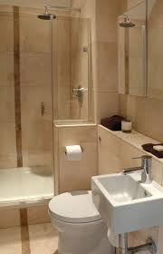 small bathroom creamy tone bathroom with beige tile floor and
