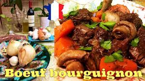 cuisiner un boeuf bourguignon cuisine française boeuf bourguignon