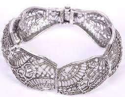 silver antique bracelet images Antique jewellery silver antique indian bracelet exporter from jpg