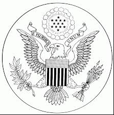 seal coloring page awesome united states coloring pages teaching squared with united